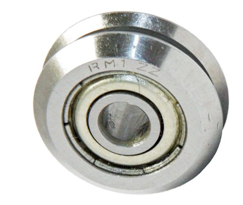 RM1ZZ 3/16 V Groove Guide Bearing Shielded Ball Bearings ...