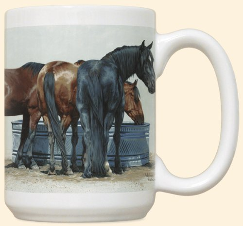 &#8220;Simple Pleasures&#8221; Horse Coffee Mug