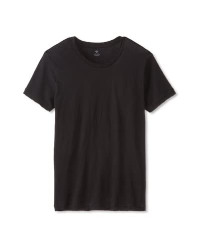 LnA Men's Short Sleeve Crew Neck Solid Tee