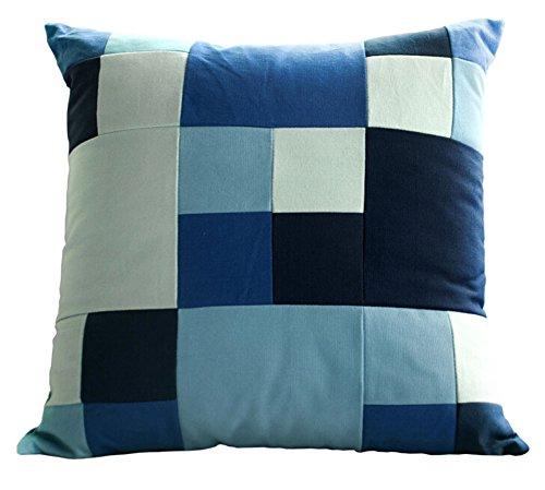 Stripe Dekorative Kissen Dekorative Kissen Abdeckungen Baumwolle Kissen Blau