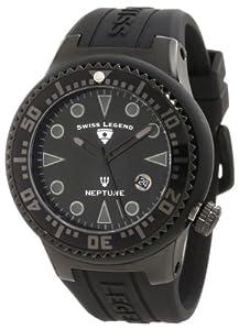 Swiss Legend 21848D-PHT-01 - Reloj de pulsera hombre, silicona, color negro