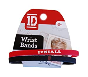 1D One Direction 2 Pack Rubber Wristband-Niall by Commonwealth Toy-Novelty