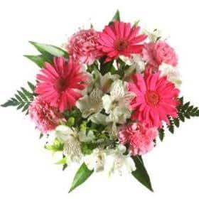Wedding Flowers Online 10 Bouquets Gerberas Alstroemerias