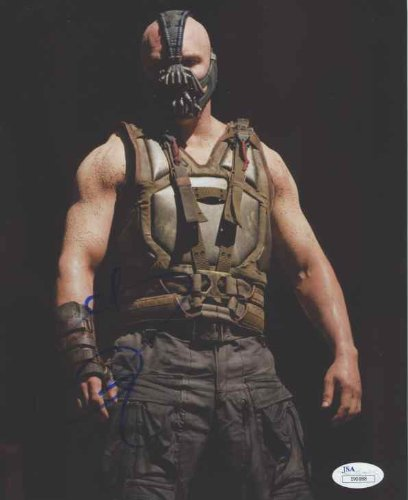 Tom Hardy 'Batman as Bane The Dark Knight Rises' Signed 8x10 Photo Certified Authentic JSA