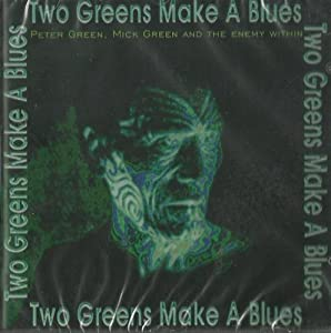 Two greens make a blues