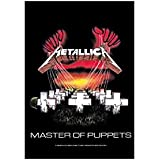 Metallica Flagge - Master Of Puppets - Posterflagge - Textilflagge