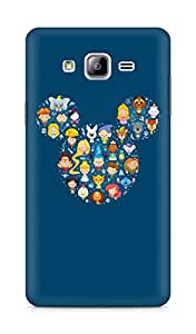 Amez designer printed 3d premium high quality back case cover for Samsung Galaxy ON7 (Disney Art Character Cute Illust)