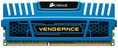 Corsair Vengeance Blue 16 GB DDR3 SDRAM Dual Channel Memory Kit CMZ16GX3M4A1600C9B