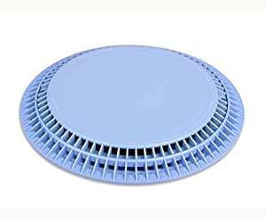 10 Inch Main Drain Cover Frame For Inground Pool Or Spa Light Blue Patio Lawn