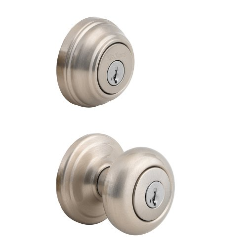 Kwikset 992 Juno Entry Knob and Double Cylinder Deadbolt