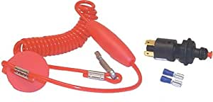 Marine Works 40990 Replacement Coiled Lanyard For Emergency Cut Off Switch
