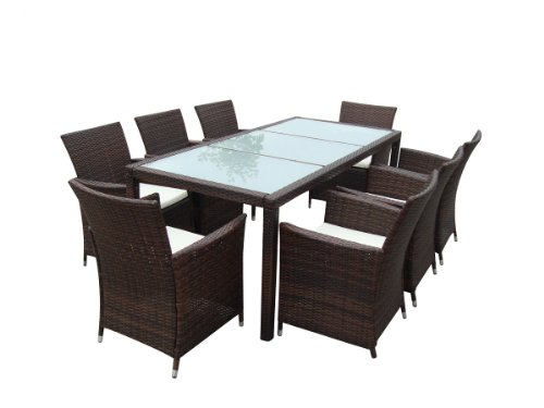 poly rattan gartenm bel gartengarnitur essgruppe gartenset alu sitzgruppe neu g nstig. Black Bedroom Furniture Sets. Home Design Ideas