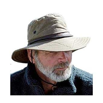 Amazon com men s wax haven hat man s winter hat water repellent