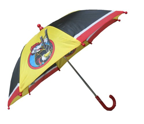 Fireman Rain Coats and Boots with Umbrellas