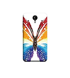 Ebby Premium Printed Back Case Cover With Full protection For Micromax Canvas Nitro 3 E455 (Designer Case)