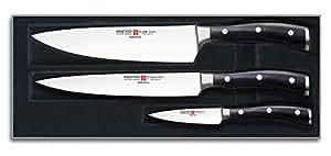 Wusthof Classic Ikon 3-Piece Kitchen Knife Set,