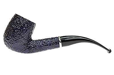 Savinelli Arcobaleno 606 Blue Tobacco Pipe - Rustic brought to you by Savinelli