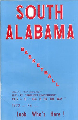 1973 South Alabama Basketball Media Guide bkbx6.1548