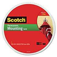 Foam Mounting Double-Sided Tape, 3/4