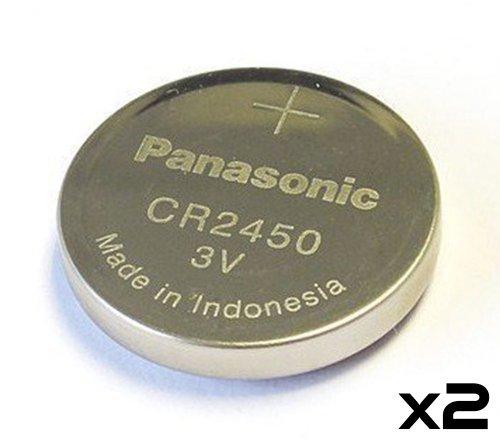 panasonic cr2450 cr 2450 lithium 3v battery 2 pack. Black Bedroom Furniture Sets. Home Design Ideas