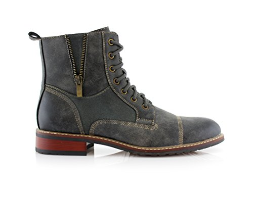 Ferro Aldo Mfa-808561 Mens Lace Up Military Combat Work Desert Ankle Boot 1