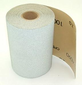 """Stick-on PSA Sandpaper Roll, 4.5"""" Wide, 10 Yds. Long, 120 Grit."""