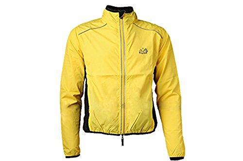 Hysenm il Tour de France-Felpa a maniche lunghe, 100% poliestere impermeabile antivento evacuazione della sudorazione per bicicletta da corsa, da escursionismo
