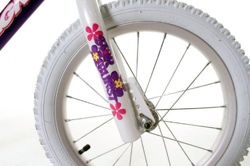 Dynacraft Magna Starburst Girl's Bike (16-Inch, Purple/White/Pink) 1