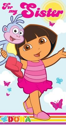 Dora The Explorer - Sister Birthday Card