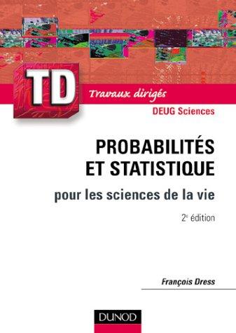 Td Probabilités Statistique Pour Les Sciences De La Vie