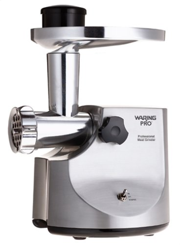 Waring MG-800 Pro Professional Meat Grinder, Brushed Stainless Steel