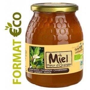 Lot de 2 - Miel de Fleurs d'Oranger Bio - 1kg