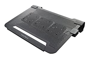 Cooler Master NotePal U3 - Laptop Cooling Pad with 3 Movable Fans
