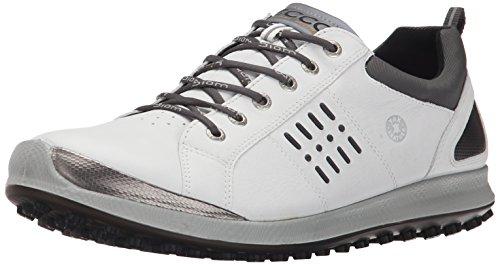 ECCO Men's Biom Hybrid 2 GTX Golf Shoe, White/Black, 47 EU/13-13.5 M US (Ecco Golf Shoes 47 compare prices)