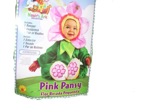 Pink Pansy Infant Halloween Costume