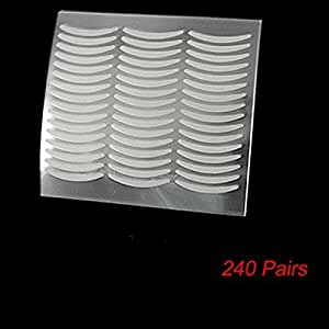 Eye Beauty 240 Pairs Adhesive Clear Double Eyelid Tape Sticker