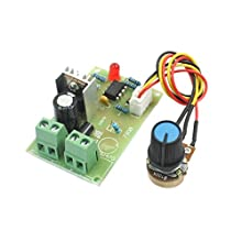 DC 6-16V 100W Adjustable Potentiometer Knob PWM Motor Speed Controller