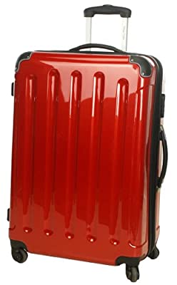 Hard-Shell Trolley/ Board Case / Suitcase, 50 cm, Red by Inspirion GmbH