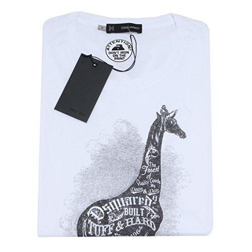 3760F maglia DSQUARED D2 MANICA CORTA polo donna t-shirt women [M]