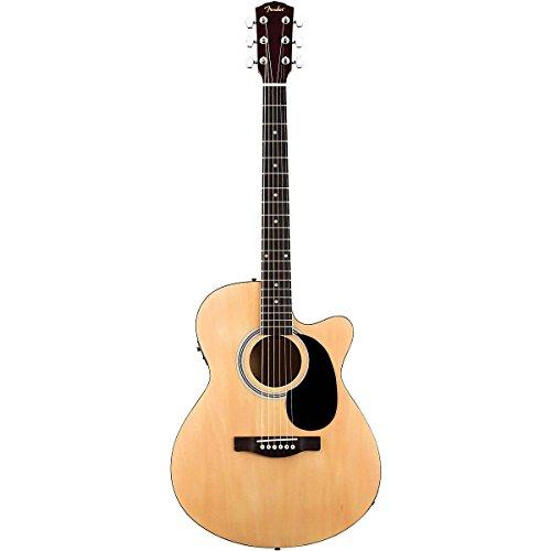 fender fa135ce concert acoustic electric guitar natural. Black Bedroom Furniture Sets. Home Design Ideas