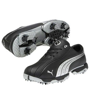 Puma Tux Lux Golf Shoes Black/Puma Silver