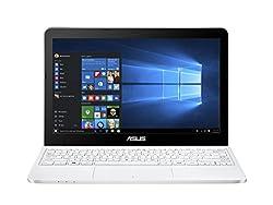 Asus E200HA-FD0005TS 29,4 cm (11,6 Zoll Glare Type) Notebook (Intel Atom X5-Z8300, 2GB RAM, 32GB eMMC, Intel HD, Win 10 Home) weiß inkl. Office 365 Personal