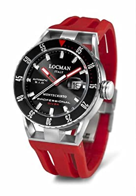 Locman Montecristo Professional Divers' Automatic by Locman Italy