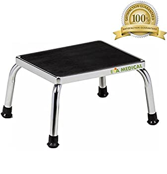 Eva Medical Foot Step Stool With Non Skid Rubber Platform