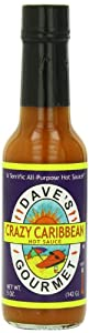 Dave's Gourmet Sauce, Crazy Caribbean, 5 Ounce