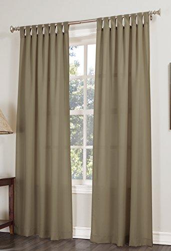 Common Wealth Home Fashions Mist Stripe,52x84,Linen