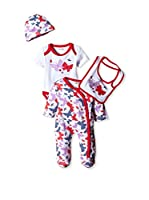 Pitter Patter Baby Gifts Conjunto (Rojo / Multicolor)