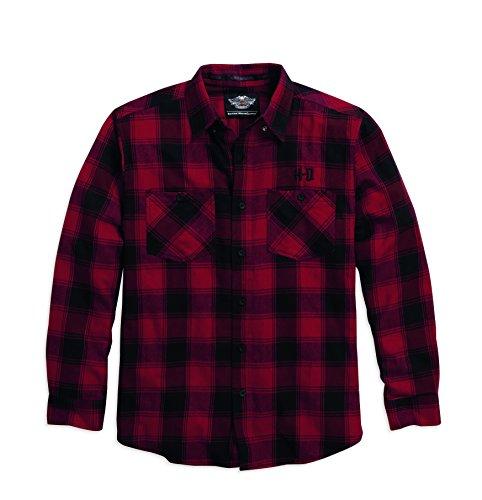 harley-davidson-96081-16-vm-hombre-camisa-de-franela-para-hombre-algodon-diseno-a-cuadros-de-inviern