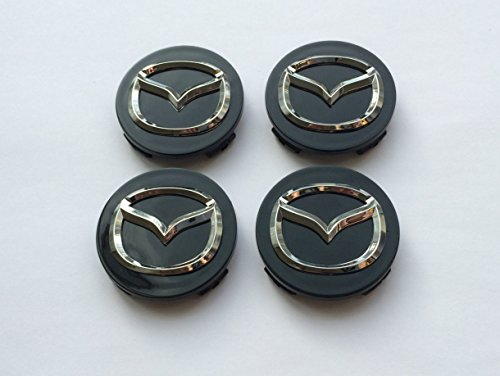 lot-de-4-bouchons-de-centre-de-roue-mazda-noir-chrome-enjoliveurs-56-mm