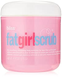 Bliss Fat Girl Scrub For Women, 8 Ounce